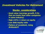 investment vehicles for retirement18