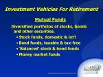 investment vehicles for retirement21