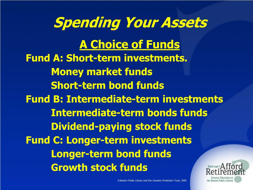Spending Your Assets
