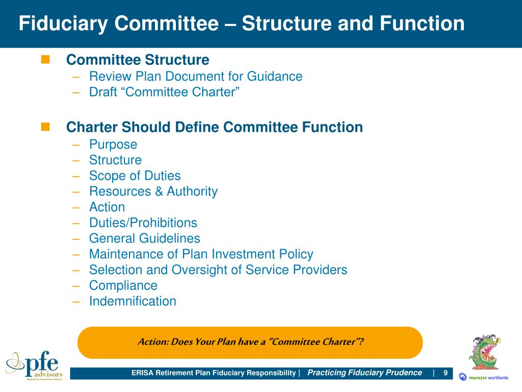 Fiduciary Committee – Structure and Function