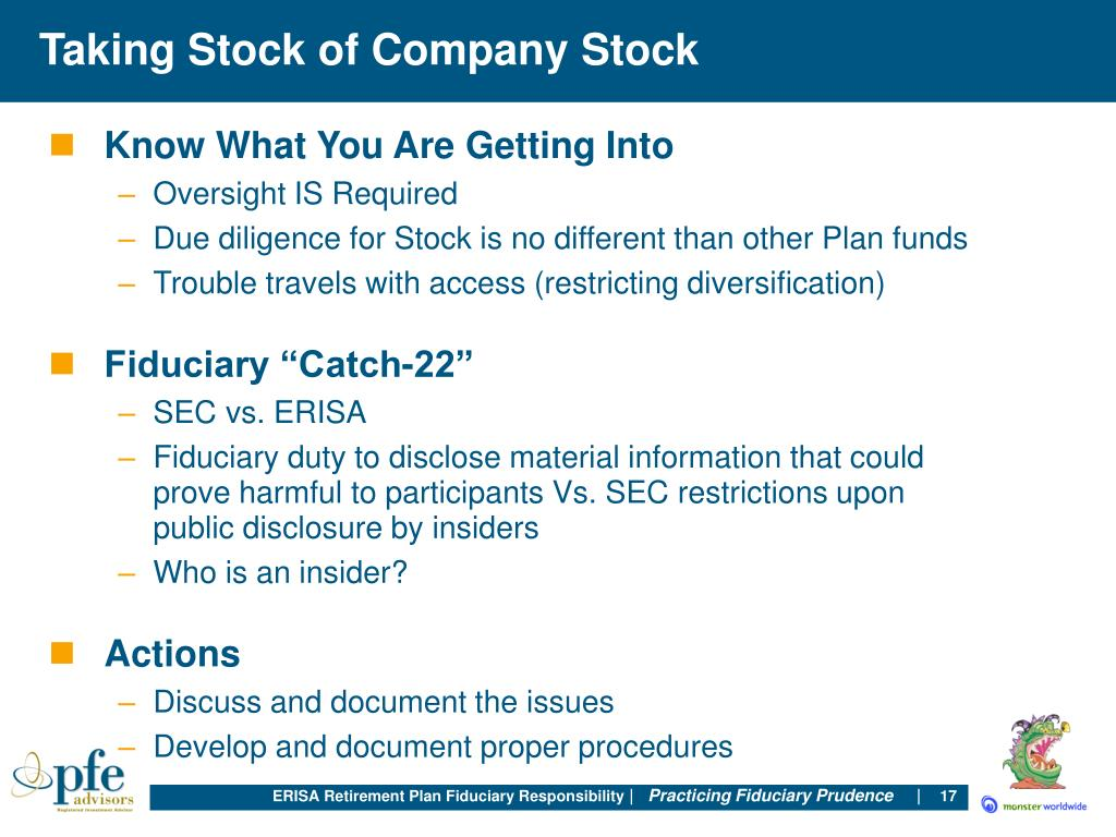 Taking Stock of Company Stock