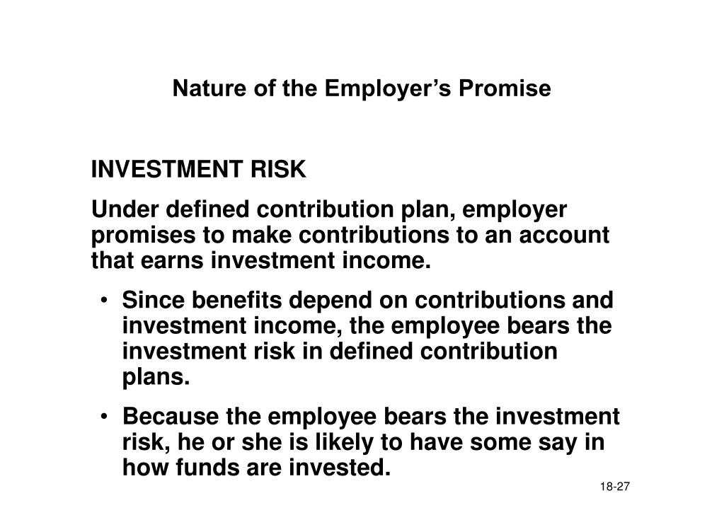 Nature of the Employer's Promise