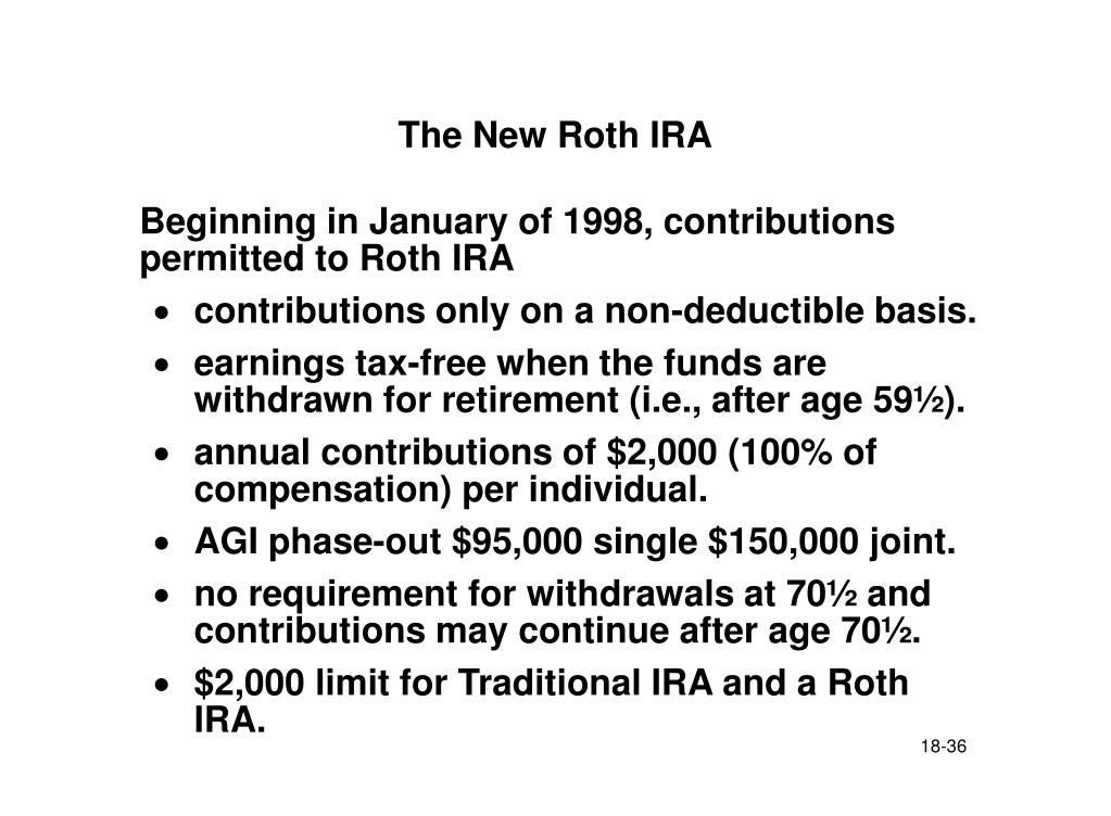 The New Roth IRA