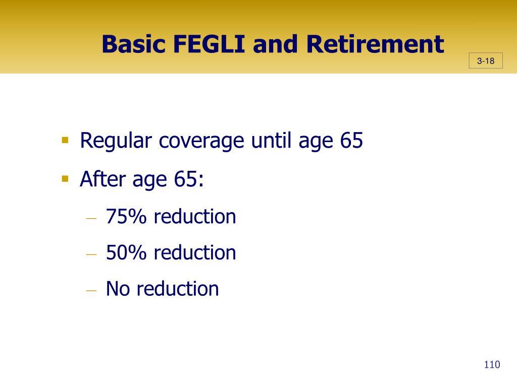 Basic FEGLI and Retirement