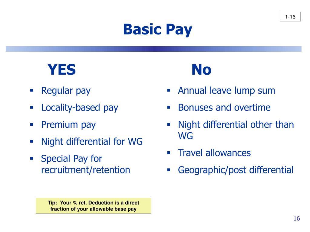 Regular pay