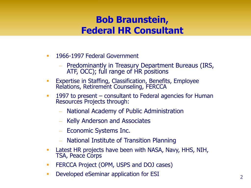Bob Braunstein,