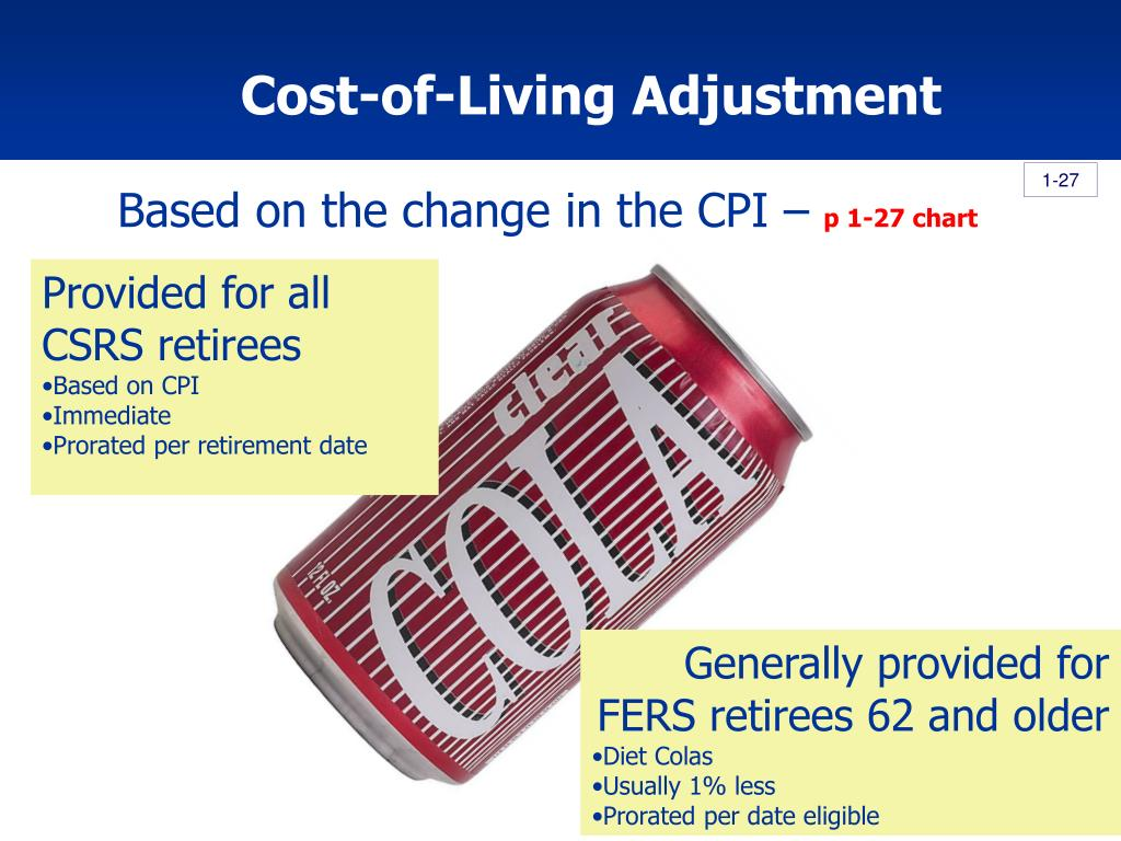 Cost-of-Living Adjustment