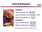 dual entitlement71