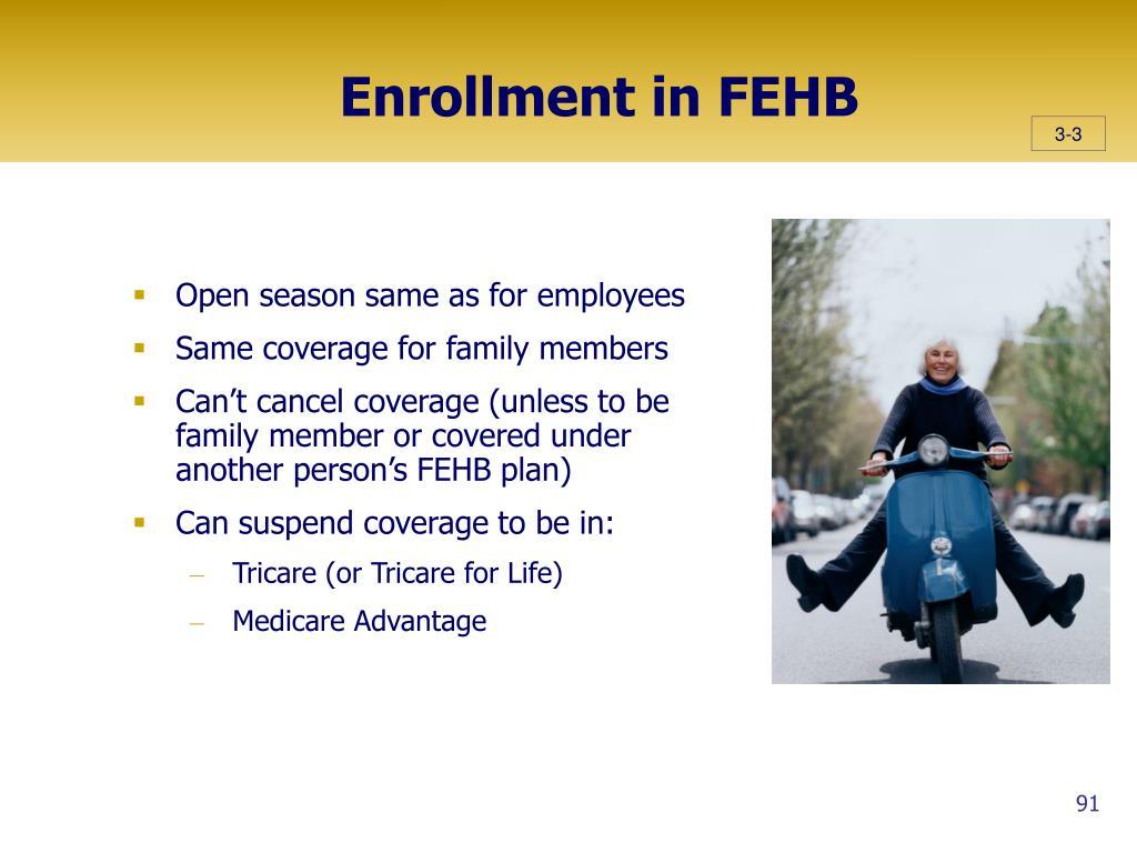 Enrollment in FEHB