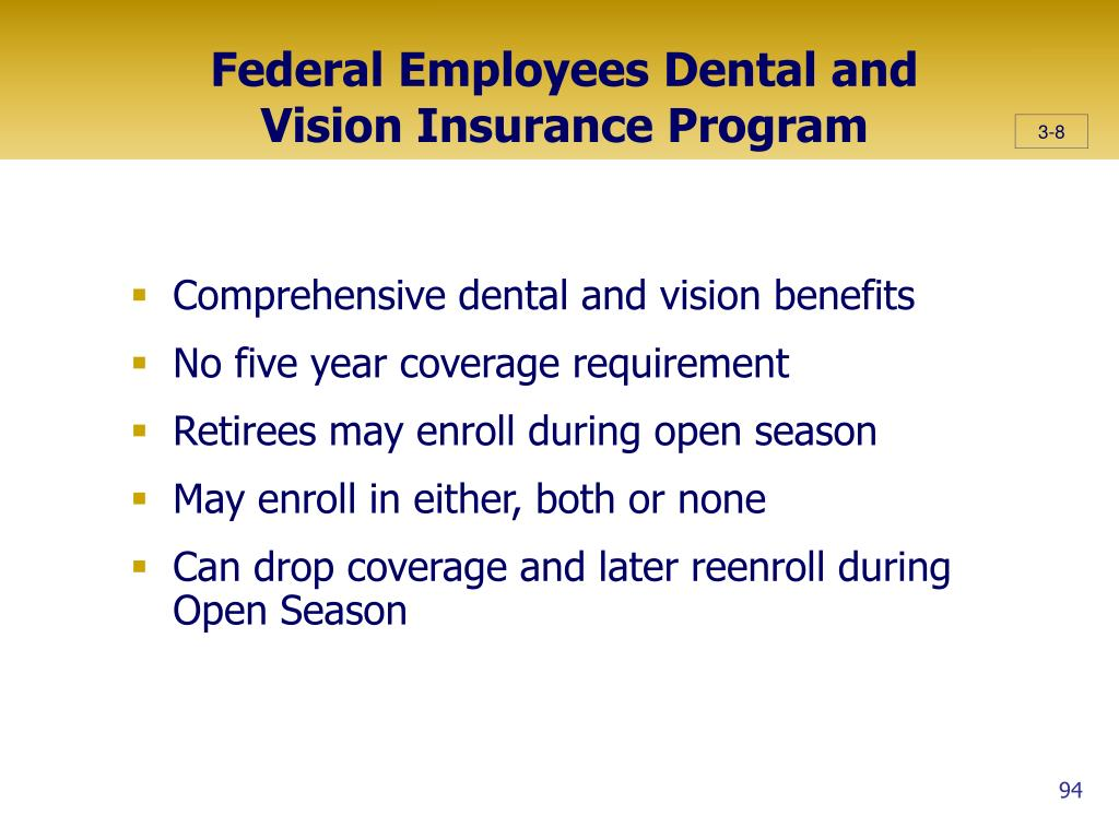 Federal Employees Dental and Vision Insurance Program