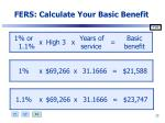fers calculate your basic benefit