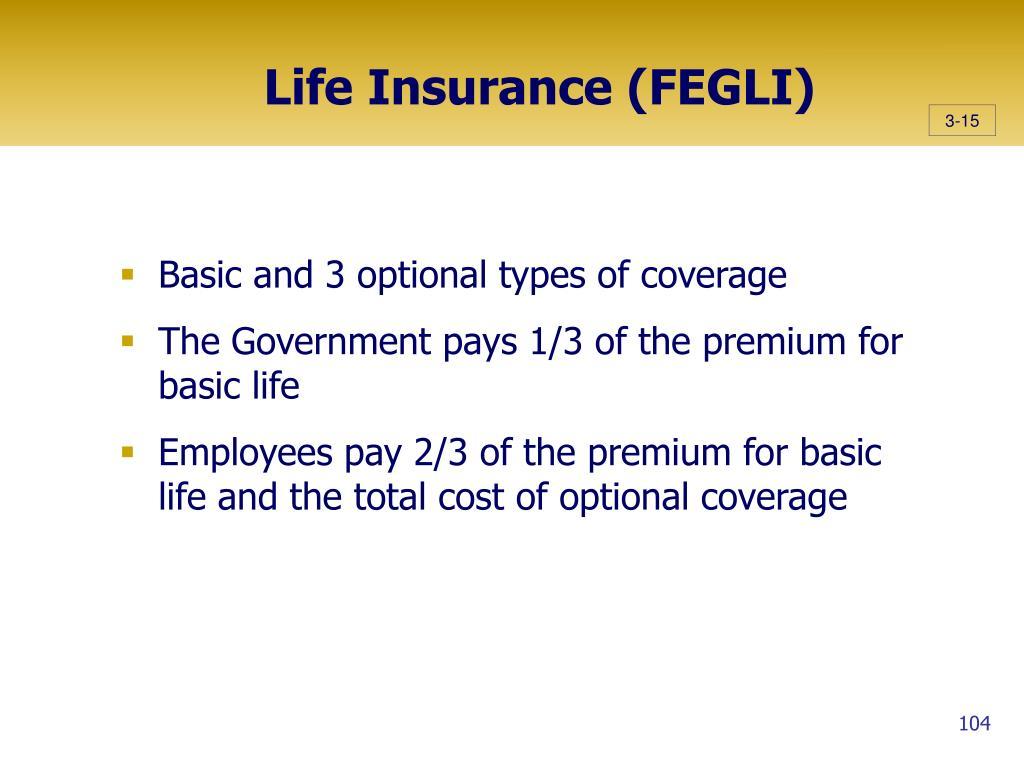 Life Insurance (FEGLI)
