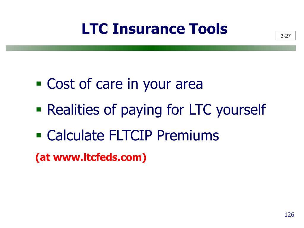 LTC Insurance Tools