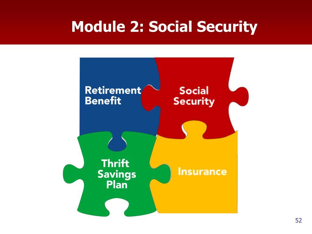 Module 2: Social Security