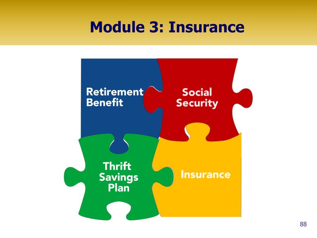 Module 3: Insurance