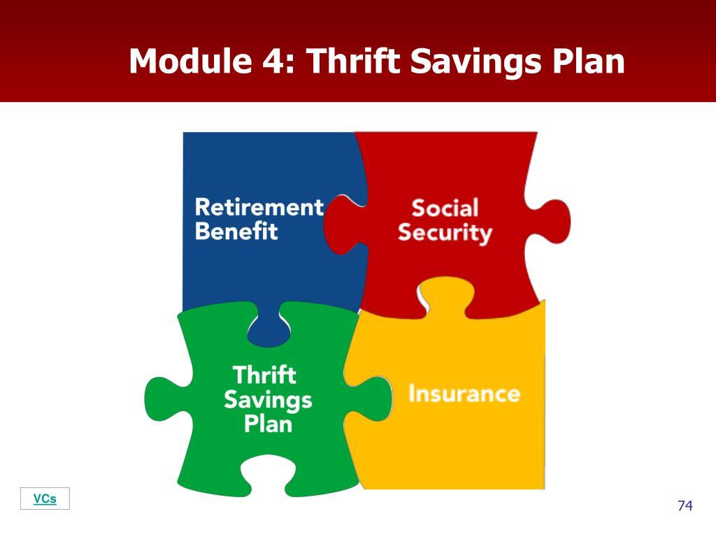Module 4: Thrift Savings Plan