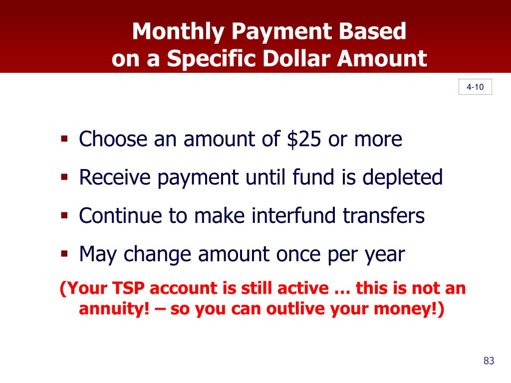 Monthly Payment Based