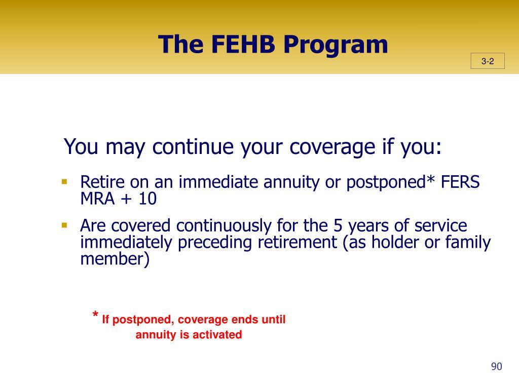 The FEHB Program