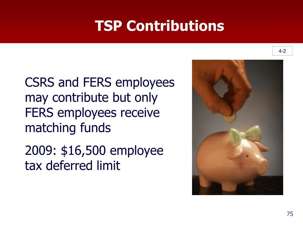 TSP Contributions
