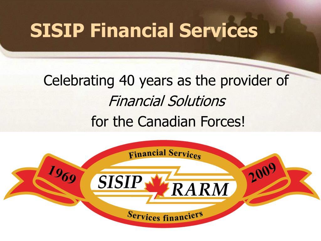 SISIP Financial Services