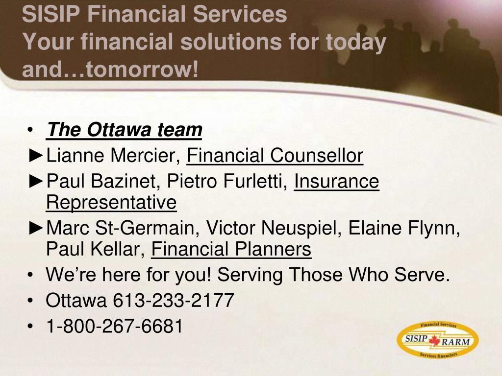The Ottawa team