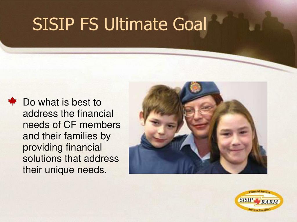 SISIP FS Ultimate Goal