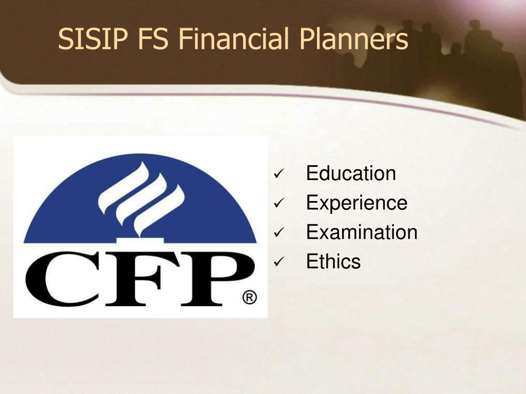 SISIP FS Financial Planners