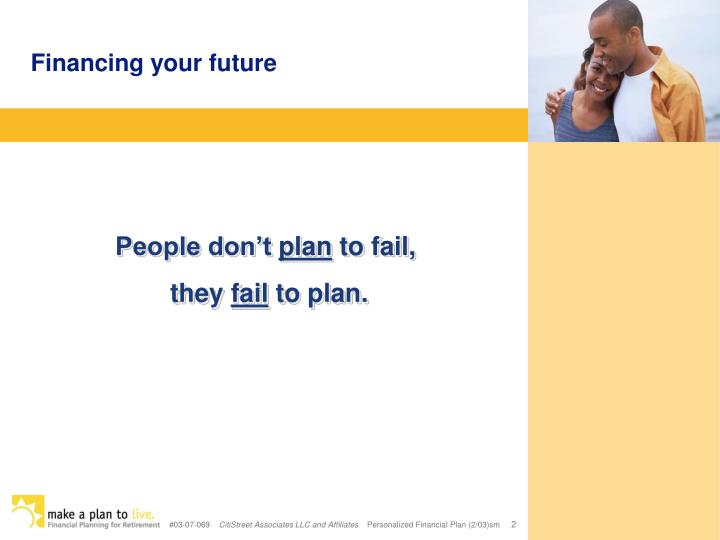 Financing your future