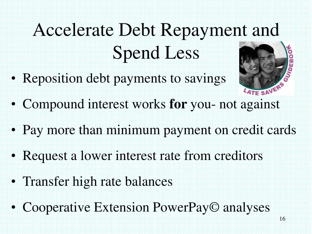 Accelerate Debt Repayment and Spend Less