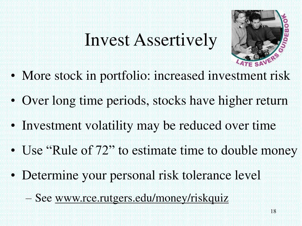 Invest Assertively