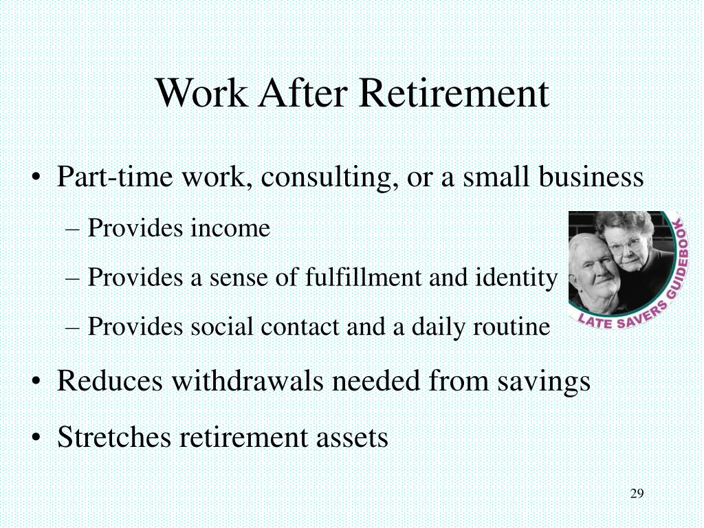 Work After Retirement