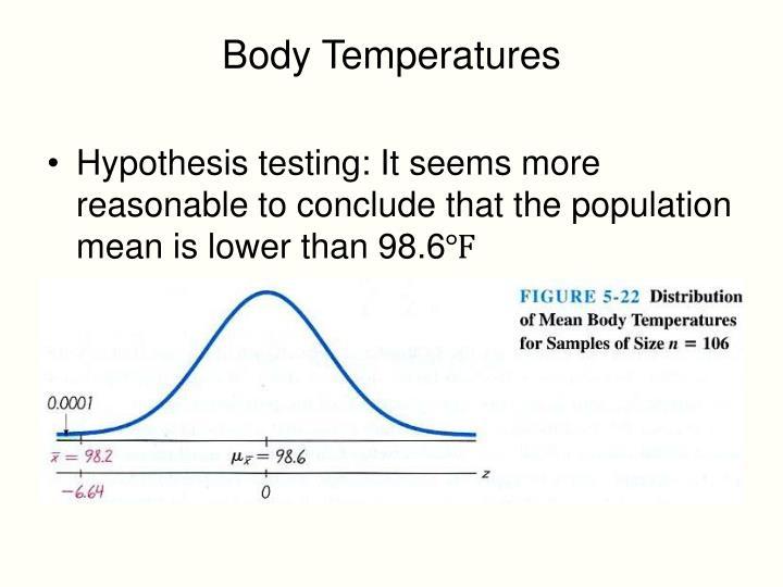 Body Temperatures