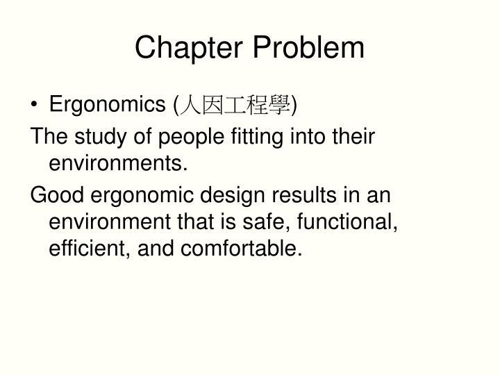 Chapter Problem