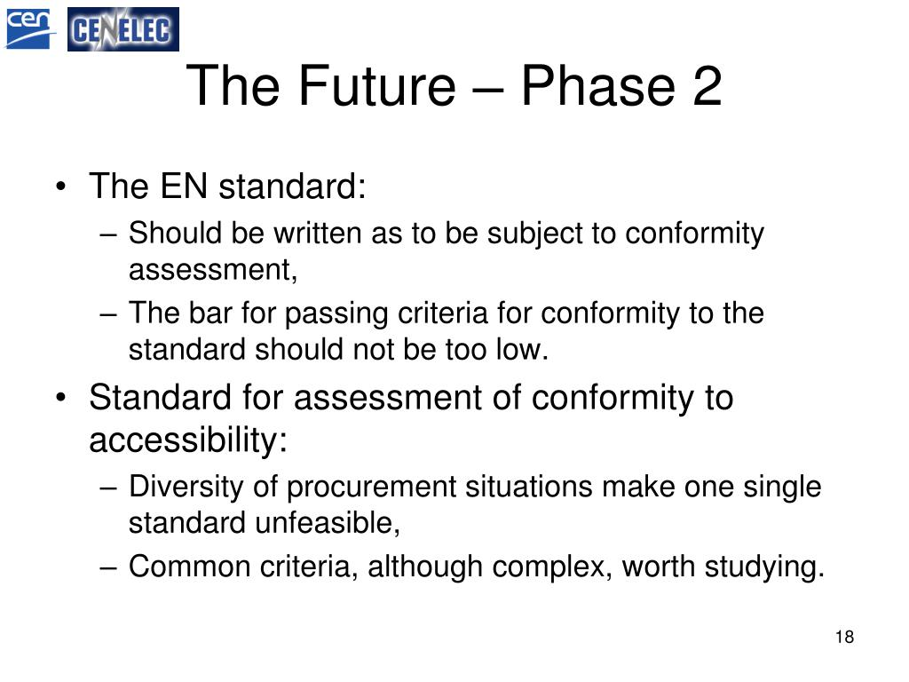 The Future – Phase 2