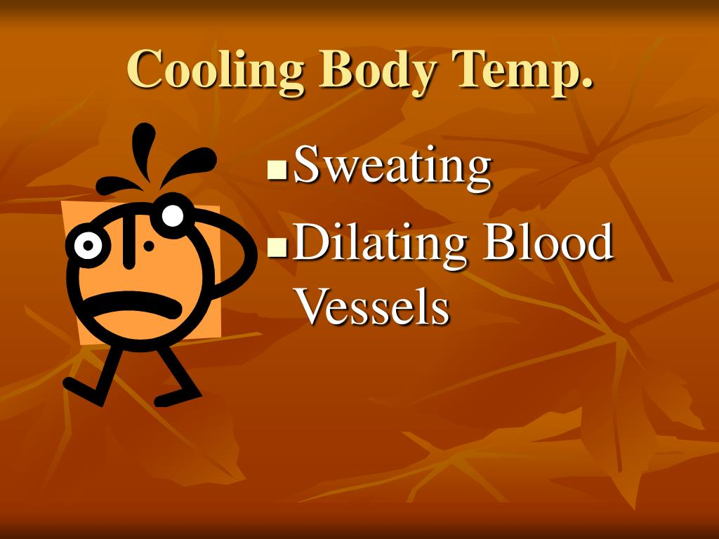 Cooling Body Temp.