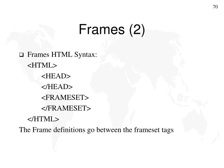 Frames (2)