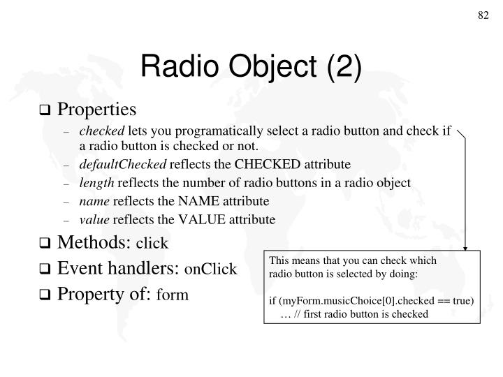Radio Object (2)