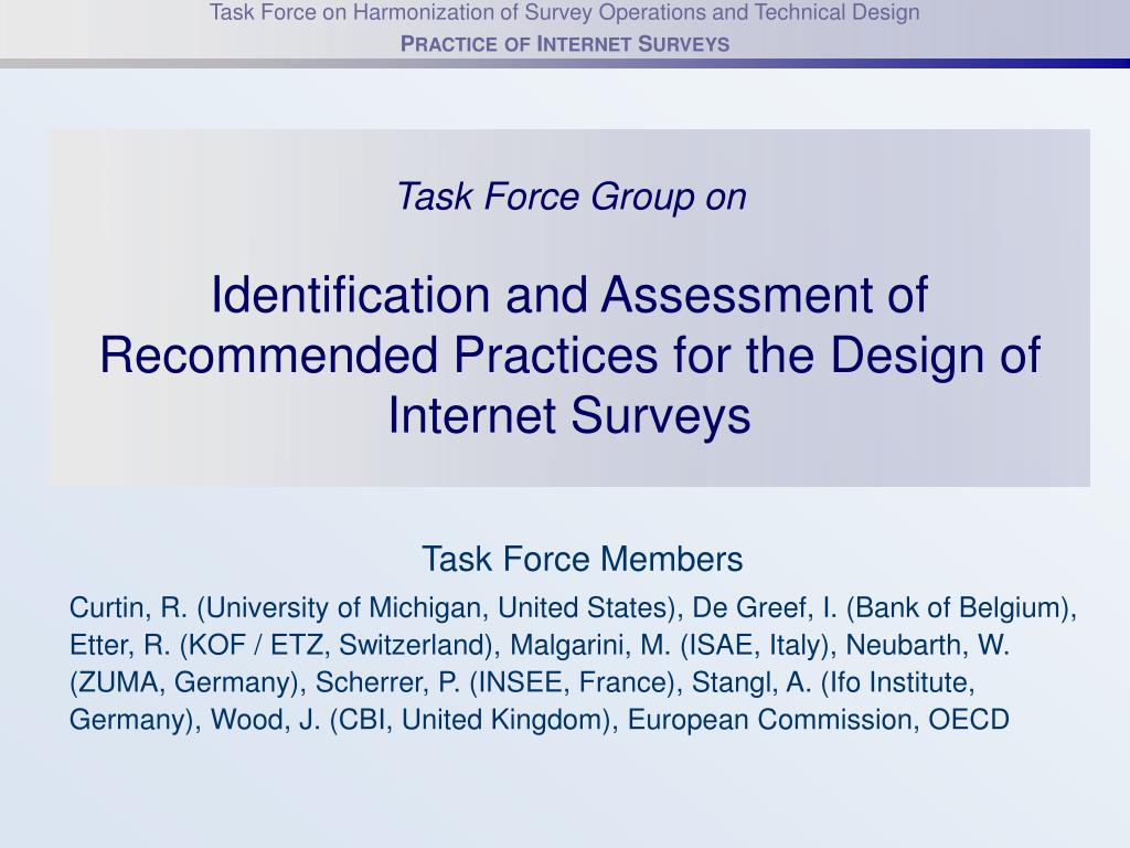 Task Force Group on