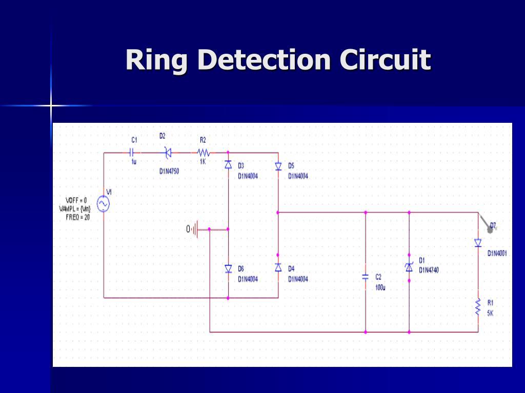 Ring Detection Circuit