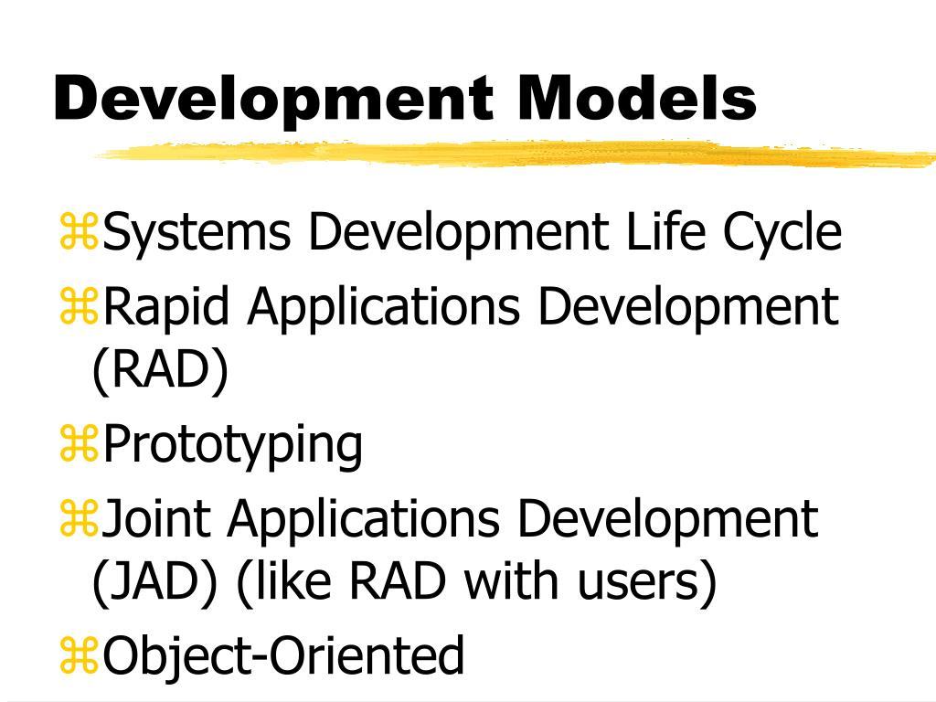 Development Models