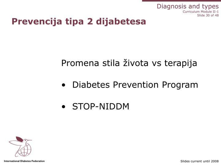 Prevencija tipa