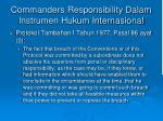 commanders responsibility dalam instrumen hukum internasional1