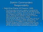 doktrin commanders responsibility1