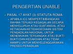 pengertian unable