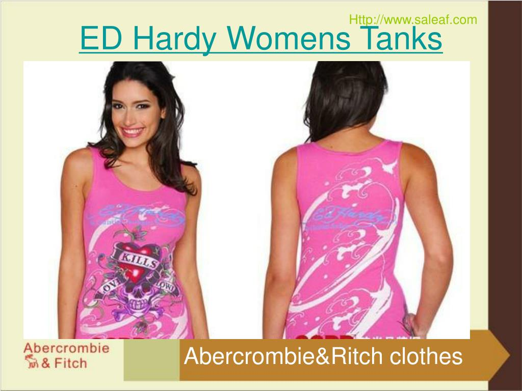 ED Hardy Womens Tanks