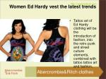 women ed hardy vest the latest trends2