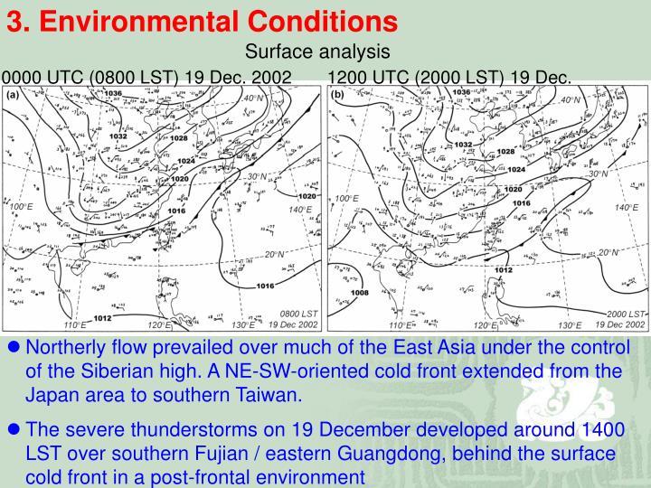 3. Environmental Conditions