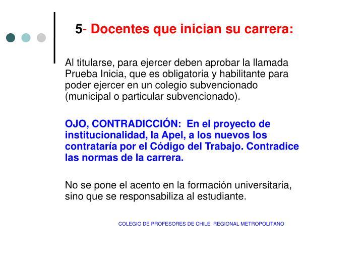 COLEGIO DE PROFESORES DE CHILE  REGIONAL METROPOLITANO