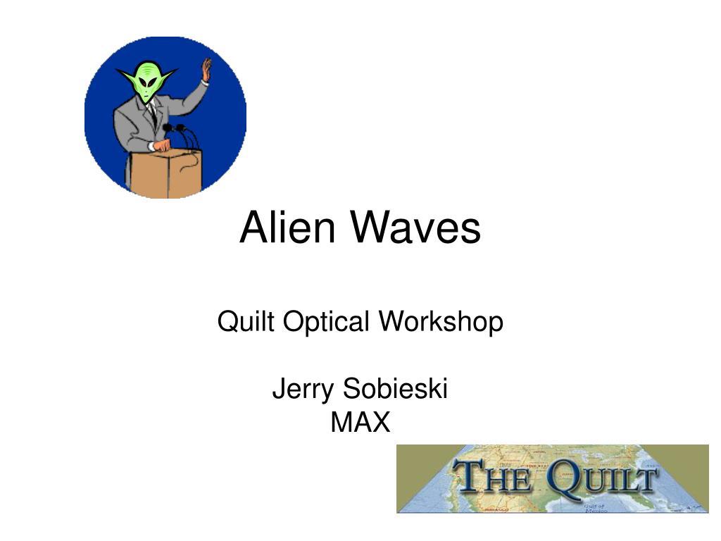 Alien Waves