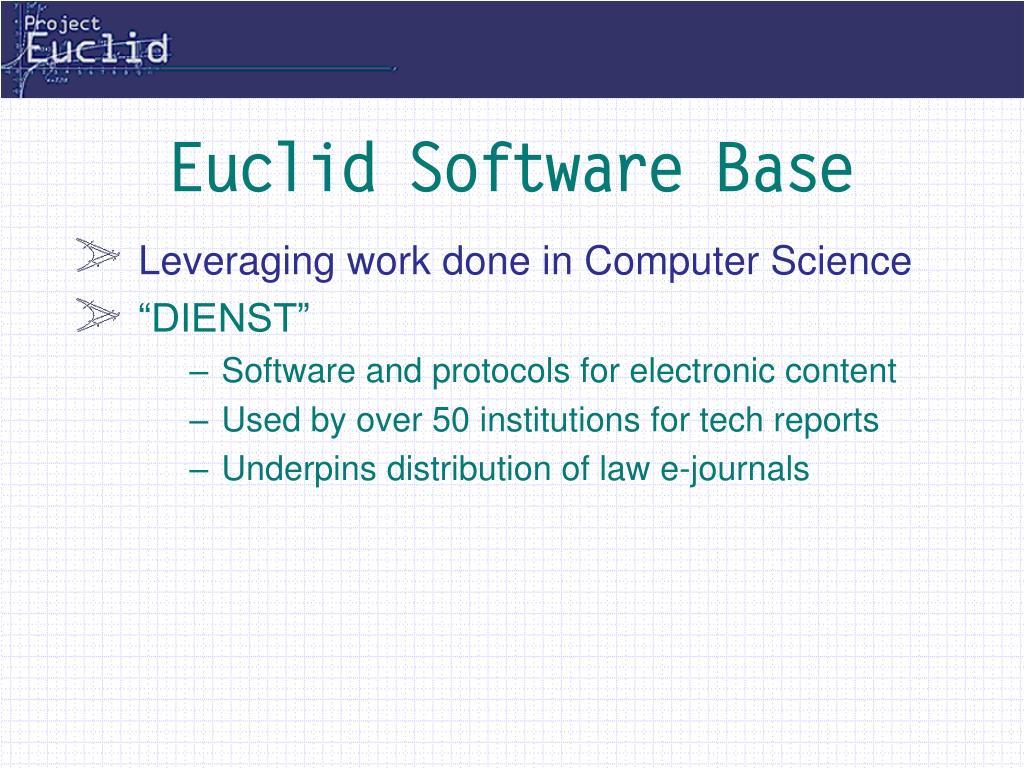 Euclid Software Base